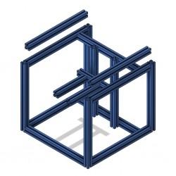 Voron V0 frame (Blue)