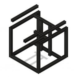Voron V0/V0.1 frame (Black)