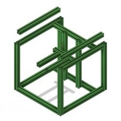 Voron V0/V0.1 Frame (Green)