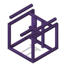 Voron V0 Frame (Purple)