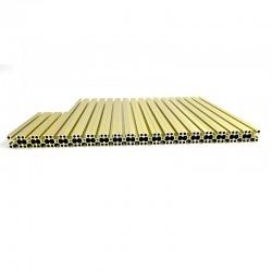 Voron V0 frame (Gold)