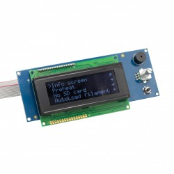 LCD Display 20x4 White/Black